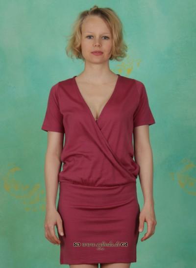 Kleid, Wound Dress, mauve