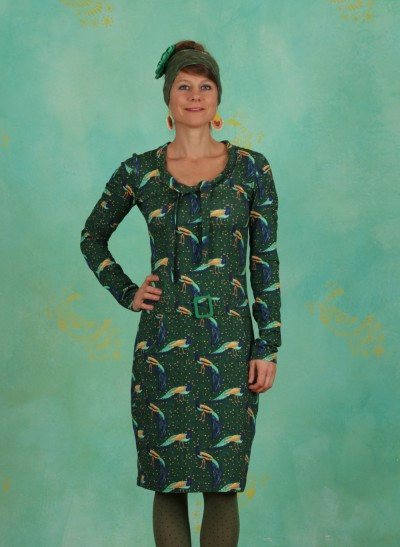 Kleid, Mally Moonsong, green-multi