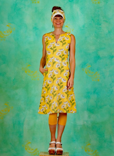Kleid, Winnie Warmlove, daisy-yellow