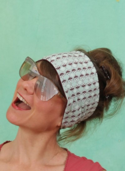 Sonnenbrille, Translucid, light-brown