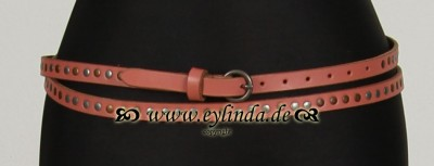 Gürtel, Leather Belt, attention