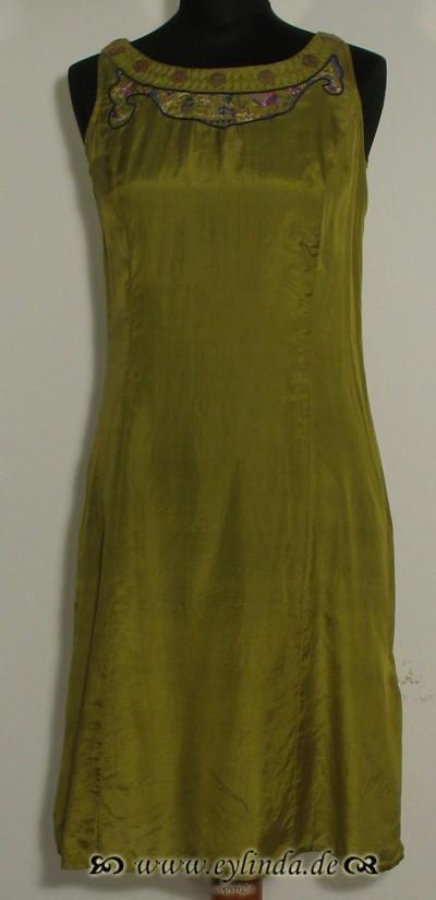 Kleid, Stanza Silk, acacia