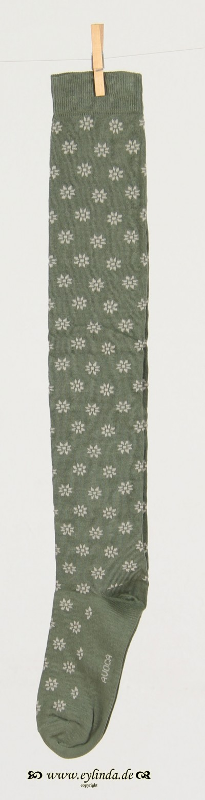 Strümpfe, Fleur-so, green