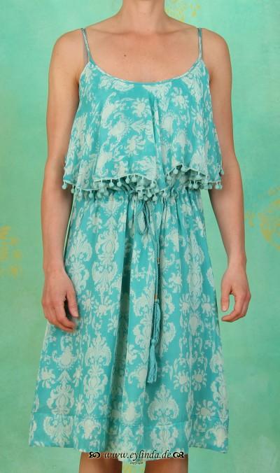 Kleid, GL-0854, aqua