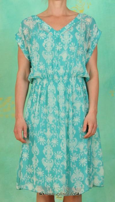 Kleid, GL-0992, aqua