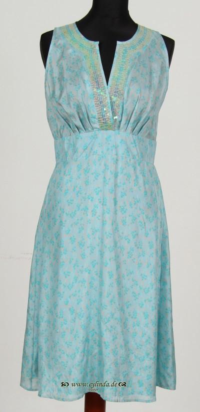 Kleid, Hibiscus Silk-Printed, breath