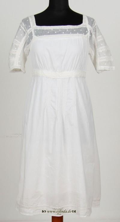 Kleid, , white