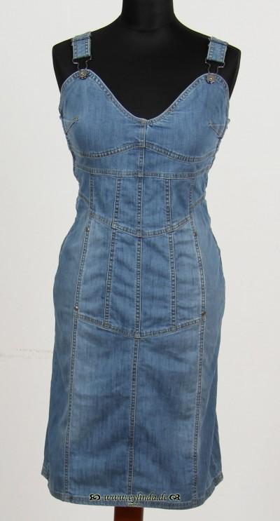 Kleid, Basic-Denim-01, denim-light