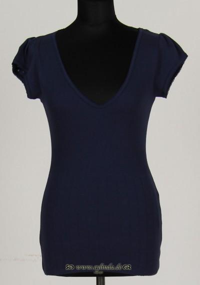 T-Shirt, Short Sleeve, naval