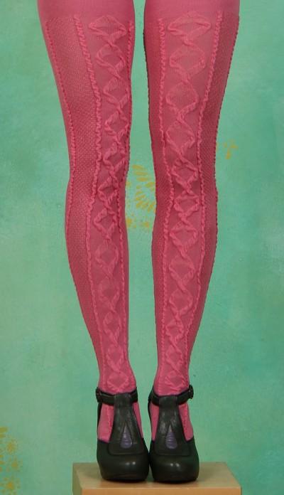 Strumpfhose, Ingle, pink