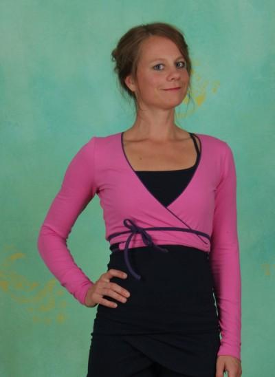Wraparound, Bolero Jacket, phlox-pink