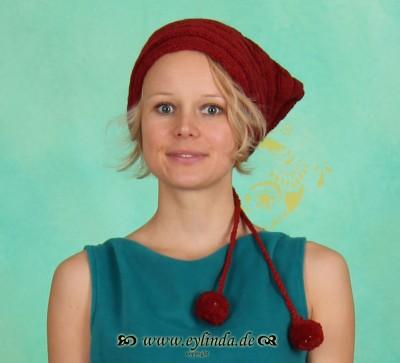 Mütze, MU18, red
