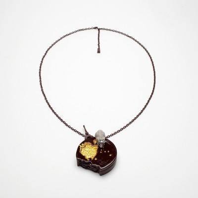 Kette, OHO303-1, chocolat