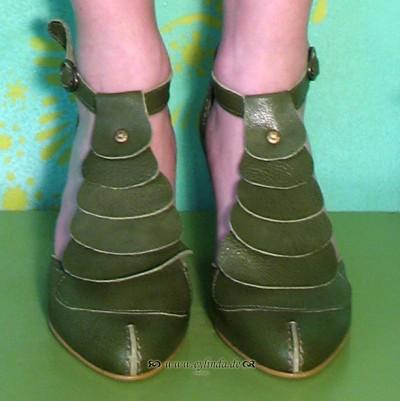 Schuhe, Ikon, mousse/green