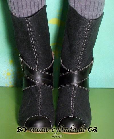 Schuhe, Rita, anthrazit