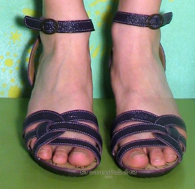 Schuhe, Liz, astrakan/purple