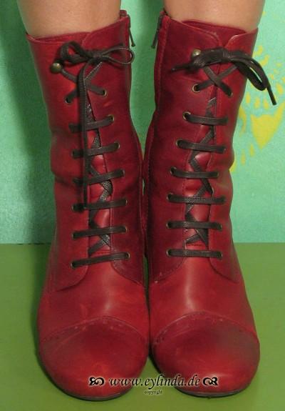 Schuhe, Aura, rug/red