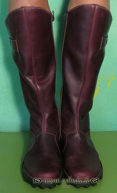 Schuhe, Mol, rug leather/purple