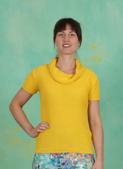 Pullover, Patra Country, yellow