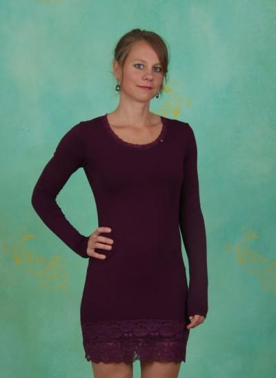Longshirt, Plain-Janets, garnet