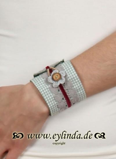 Armband, RosalieAr, rosa-gruen
