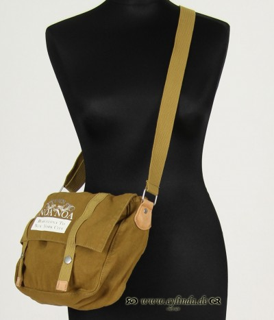 Handtasche, Basic-Canvas Bag-Solid, melody