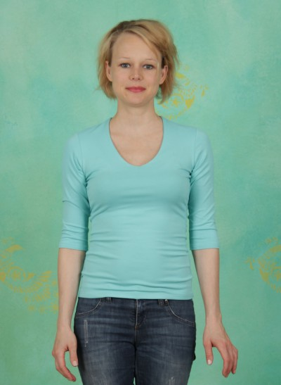 Shirt, Sylvia, mintgrün