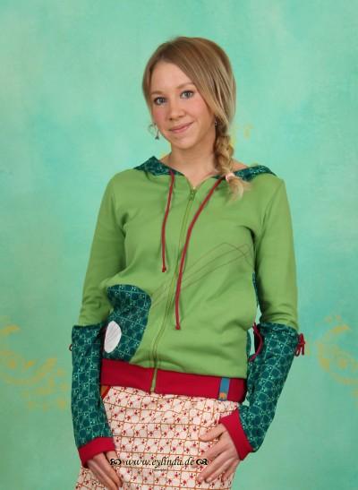 Zipper, TR12A2, fresh-green