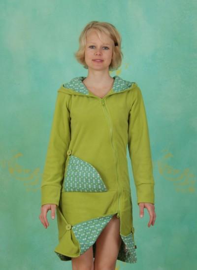 Fleece-Mantel, TR12A25, fresh-green