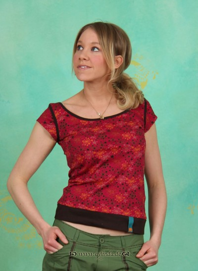Shirt, TR12C20, raspberry