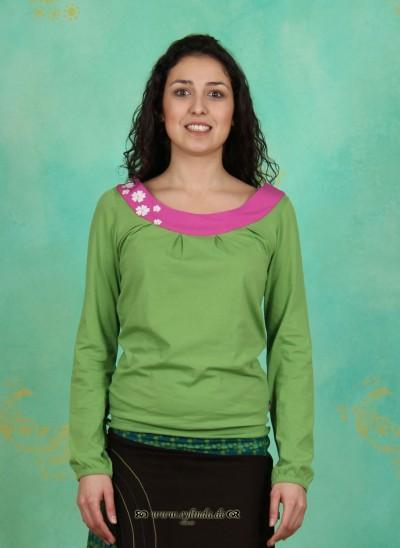 Longshirt, TR12C3, fresh-green