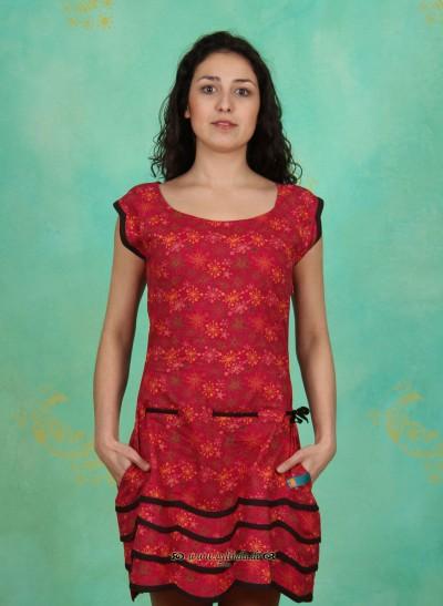 Kleid, TR12E1, raspberry