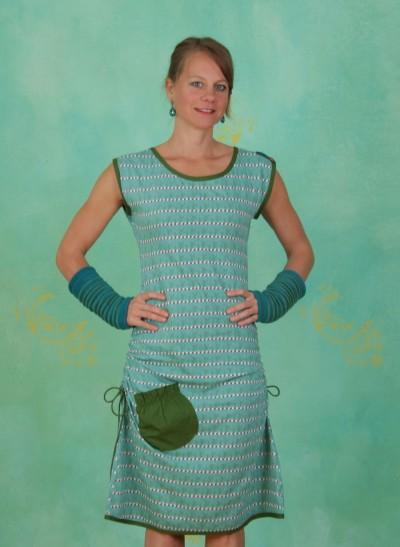 Kleid, TR12E37, soft-blue