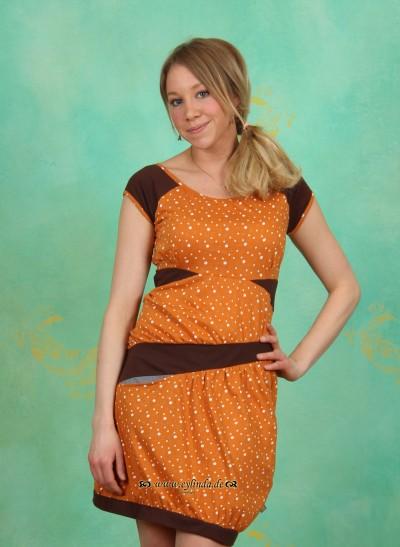 Kleid, TR12E4, orange