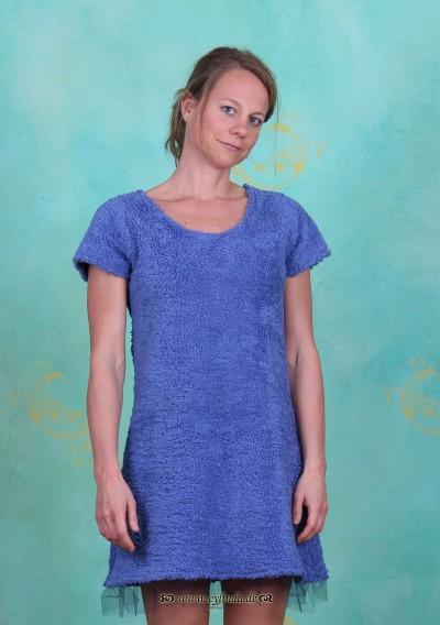 Kleid, Terza, blau