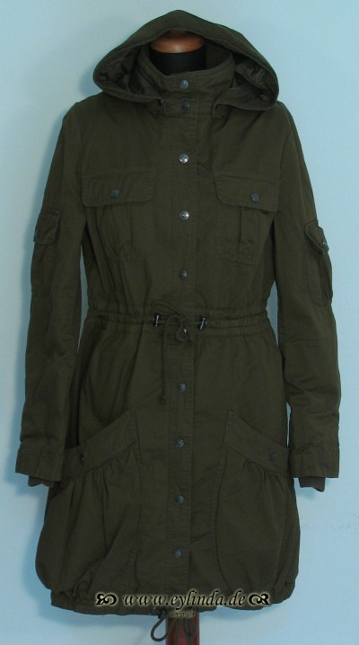 Outdoorkleidung, Trendy Coat, khaki