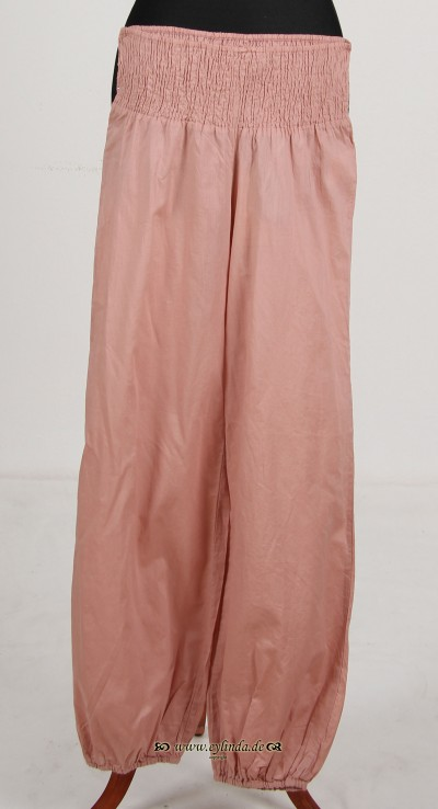 Hose, Basic-Voile Solid-03, dixie