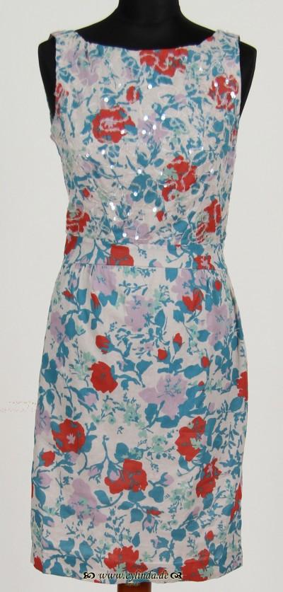 Kleid, Chintan Cotton, bluey