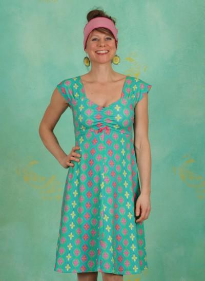 Kleid, Amy, retro-green