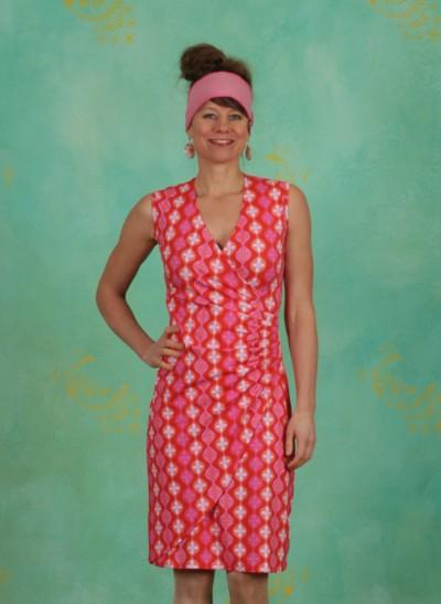 Kleid, BA Sleeveless, retro-red