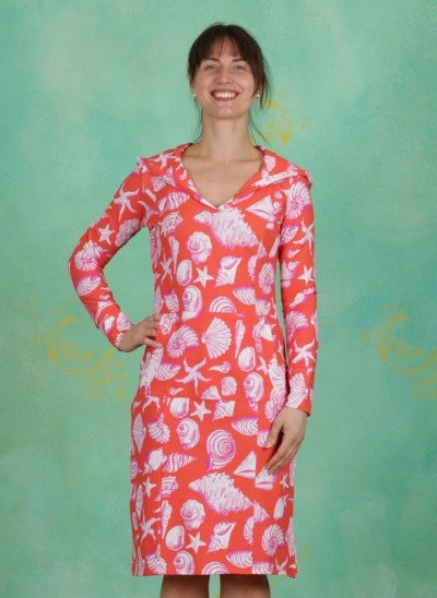 Kleid, Santiago, shell-orange
