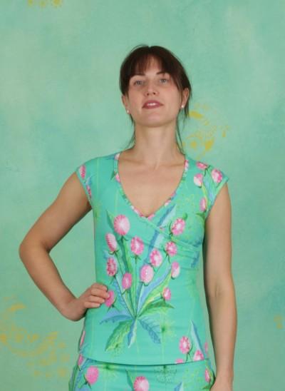 Shirt, Nantes, dandelion-jade