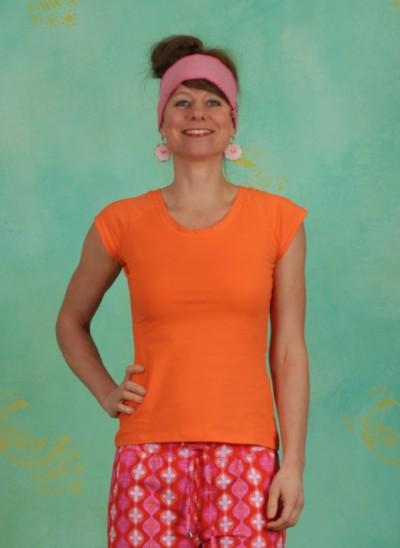 Shirt, Laval, orange