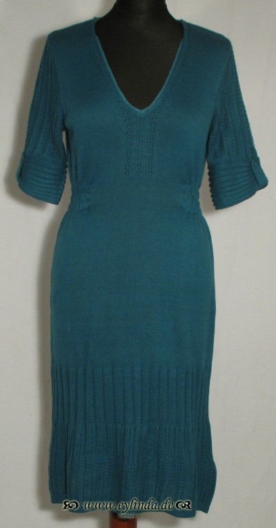 Kleid, Mornington Knit, teal