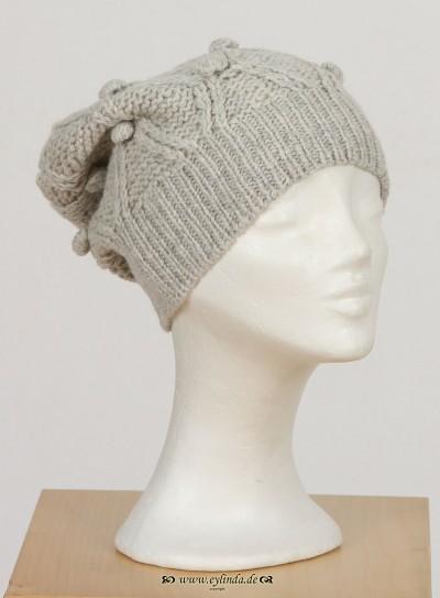 Mütze, Penguin Acc., grey-melange