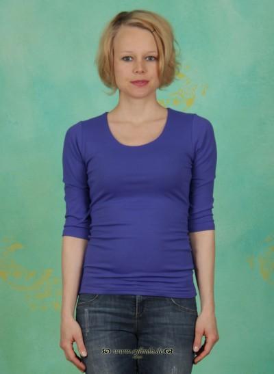 Shirt, Zaza, blau-lila