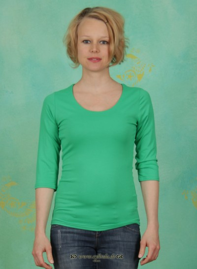 Shirt, Zaza, gras-grün