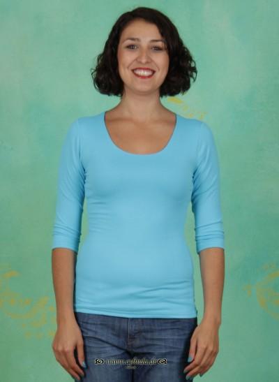 Shirt, Zaza, lichtblau