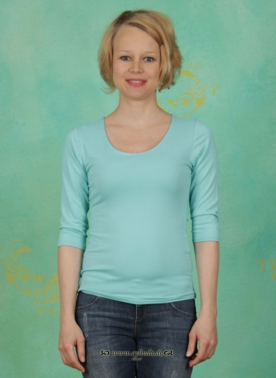 Shirt, Zaza, mintgrün