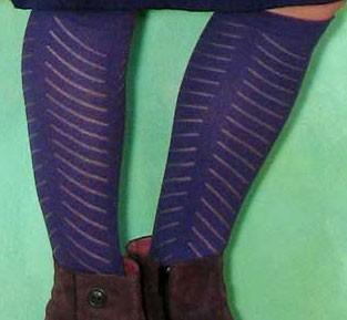 Socken, BL-0168, amatyst
